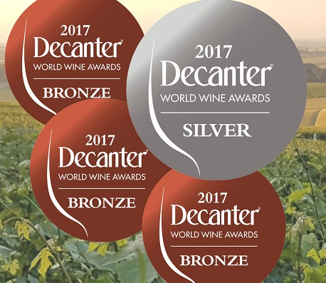 Silver medal for our champagne Georges de la Chapelle Extra-brut at Decanter world wine awards 2017